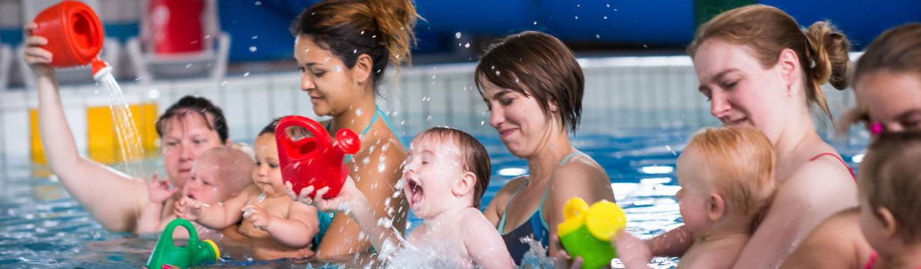 wanneer zwemmen na bevalling